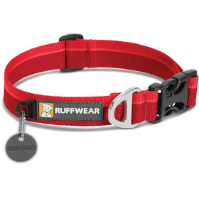 Ruffwear Hoopie Collare per animali, red currant
